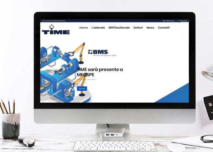 Rilascio nuovo sito TIME