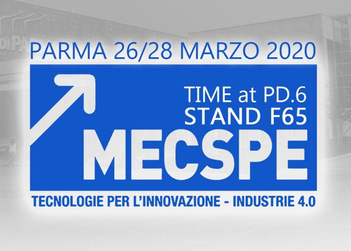 TIME a Parma al MECSPE 2020